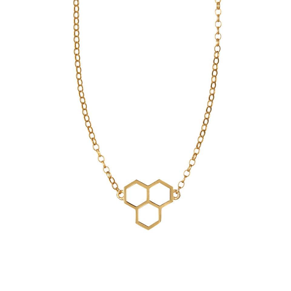 Honeycomb Necklace - Tessa Packard