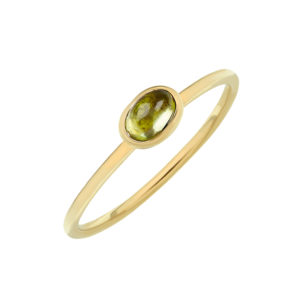 Gold and Peridot Ring by Tessa Packard London Contemporary Fine Jewellery