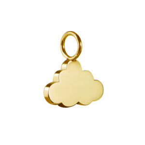 Cloud Charm in Gold