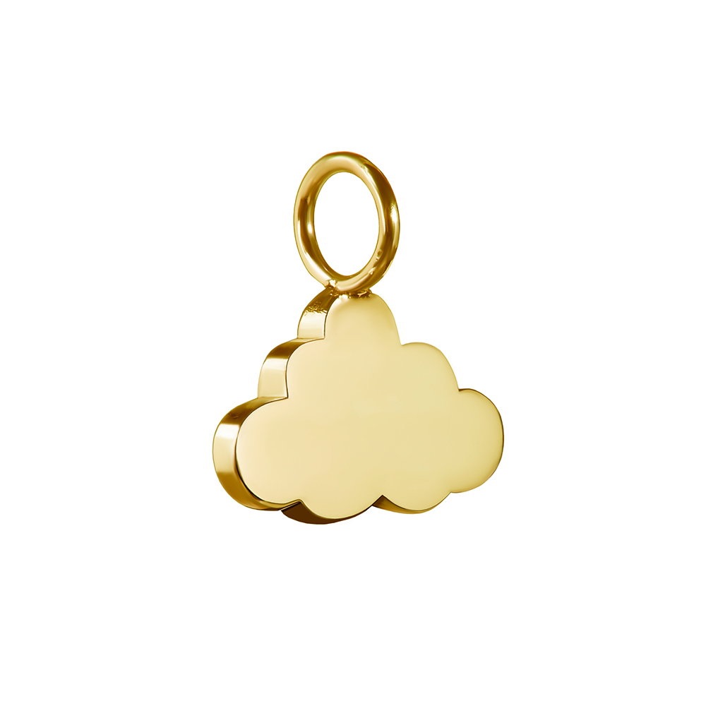 Cloud Charm in Gold -Tessa Packard London - Every Cloud Collection