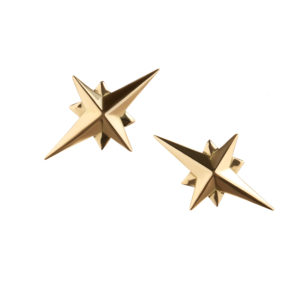 Starbound Earrings in gold