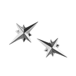 Starbound Studs in silver