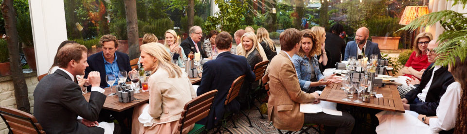 Tessa Packard London Contemporary Fine Jewellery Summer dinner Party