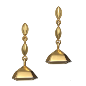 Mirage-At-Large Earrings in Gold