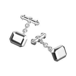 Cryptic Cufflinks in Silver
