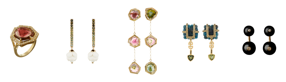 Tessa Packard London Contemporary Fine Jewellery Tourmaline Birthstone Jewellery