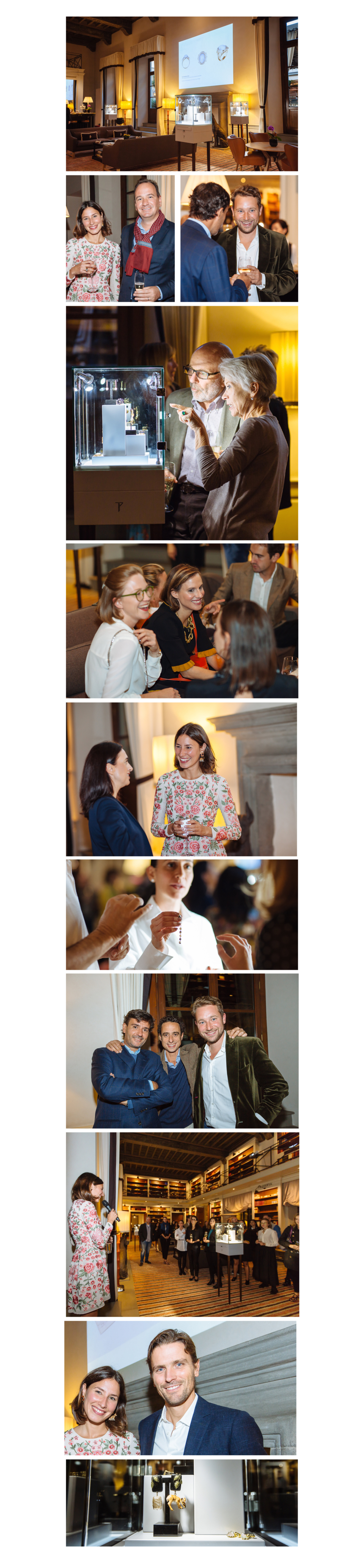 Palazzo tornabuoni x Tessa Packard London Launch Party