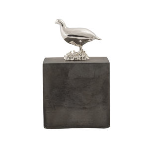 Grouse Cube in Dark Concrete