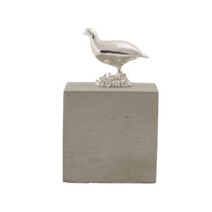 Grouse Cube in Light Concrete