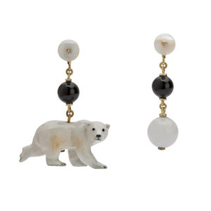 Mr Polar Bear Earrings