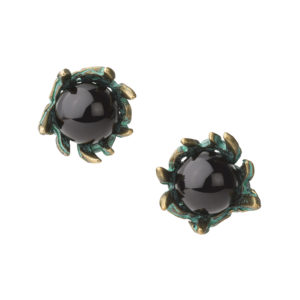 Cuckoo Nest Earrings [Black]