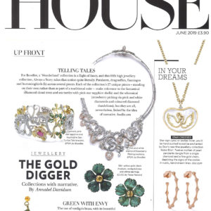 Once Upon a time in My Secret Garden collection by Tessa Packard London Contemporary Fine Jewellery Featured in Country and Town House May 2019 Issue