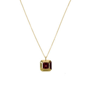 Cryptic Pendant [Garnet]
