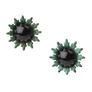 First Bud Earrings [black]