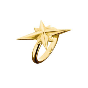 Starbound Ring in gold