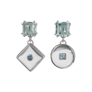 Square-Peg-Round-Hole Earrings
