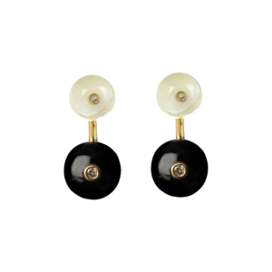 Orbit Earrings in Midnight