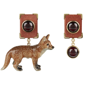 So Foxy Earrings