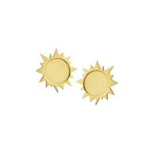 Sunshine Earrings in Gold