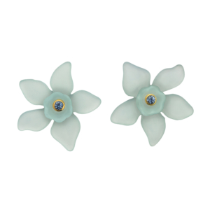 Everglade Earrings [Light Green]