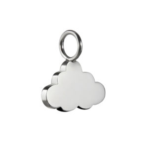 Cloud Charm in Silver