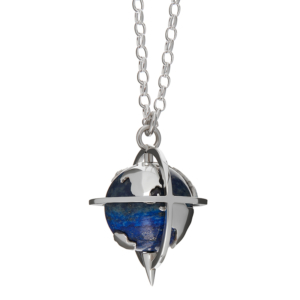 Explorer Pendant in Lapis-Silver