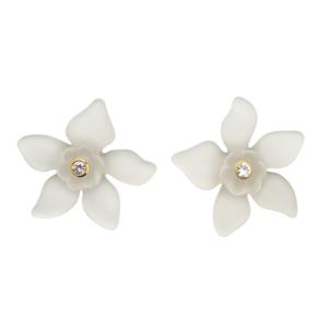Everglade Earrings [White]