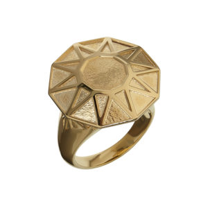 Copy-Cat Ring in Gold