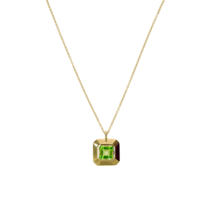 Cryptic Pendant [Peridot]