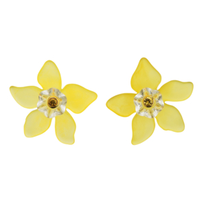 Everglade Earrings [Yellow]