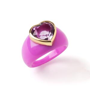Boca Bonita Ring in Pink