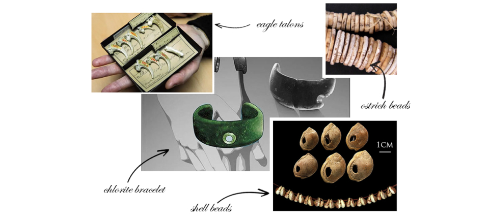 Prehistoric Jewellery discoveries