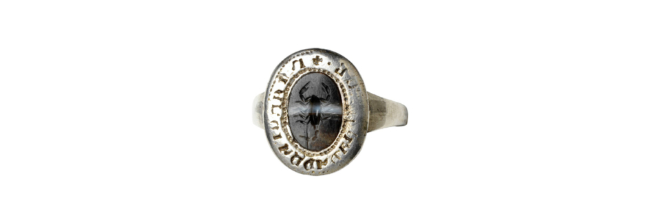 Scorpion signet ring