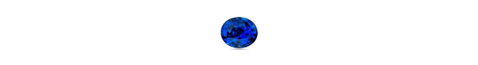 round cut sapphire gem stone