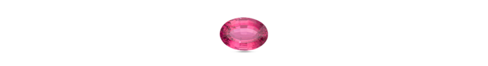 oval cut tourmaline gem stone