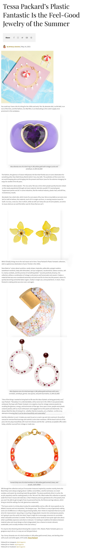 plastic fantastic jewelry by tessa packard