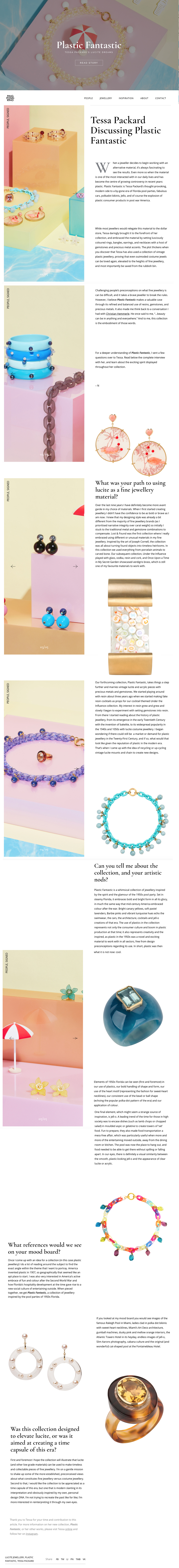 plastic fantastic lucite jewellery tessa packard