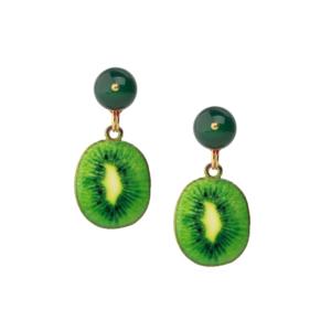Kiwi Earrings [green]