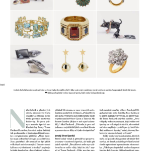 tessa packard esprit magazine fine jewellery interview bespoke jewellery design