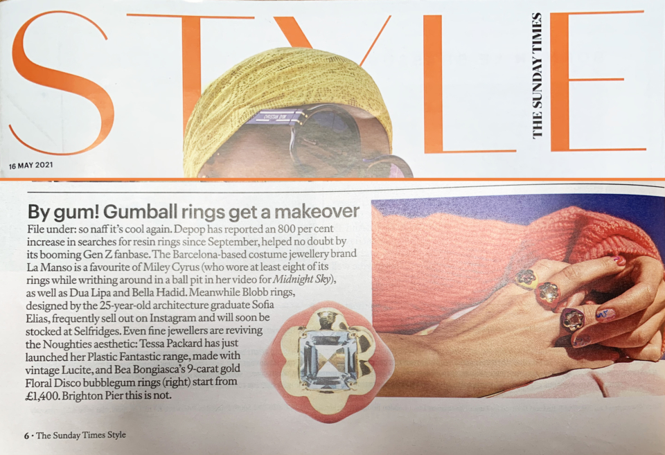 tessa packard resin gemstone jewellery sunday times style magazine