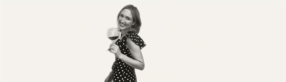 tessa packard talks to cat palmer of wise grapes wine tasting
