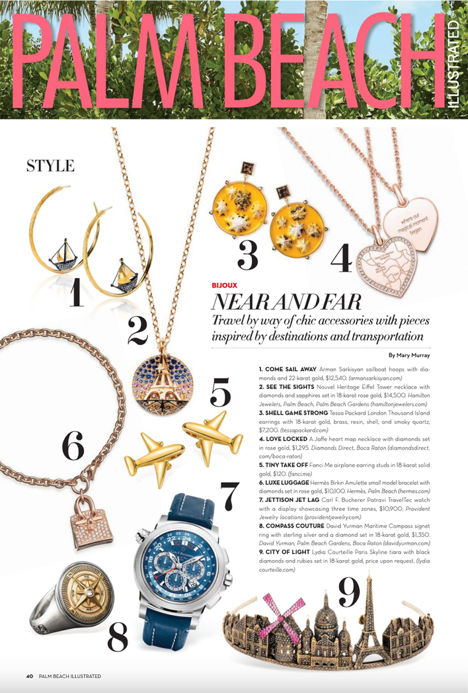tessa packard jewelry featured in palm beach magazine