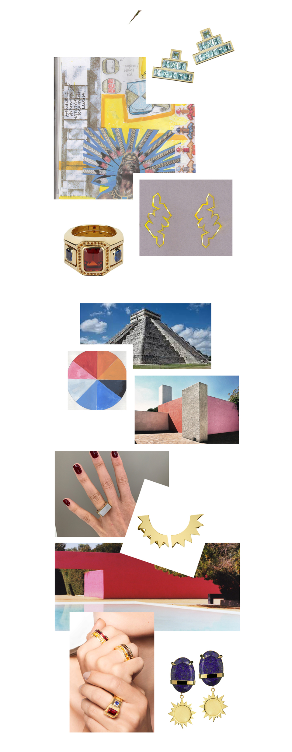 mexican inspired fine jewellery by tessa packard